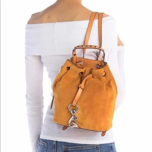 Rebecca Minkoff Blyth Small Suede Backpack, NWT